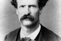 Mark Twain (Samuel Clemens) / by Esther Friedman