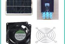 Ventilation med solceller / Ventilation med solceller er en effektiv og billig ventilations løsning som kræver ingen strøm fra stikkontakten. Den kører automatisk når solen skinner. Behøver ingen vedligeholdelse.