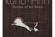 "Art Deco / Reliving the fabulous ""Ruhlmann: Genius of Art Deco Paris"" exhibit at the Met in 2004 / by Paleo_Bonegirl"