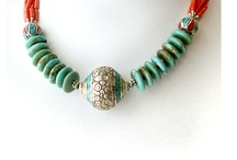 jewelry showcase / Our jewelry reflects the rich art of the Himalayas. Local natural stones such as Turquoise, Lapis, Red Coral have been meticulously hand crafted with ornate traditional designs.