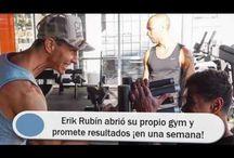 Erik Rubín abrió su propio gym y promete resultados ¡en una semana!