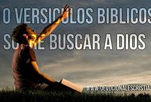 Versículos Bíblicos Buscar a Dios