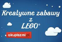 Akupiszmi.pl ♡ kreatywne zabawy z LEGO® / Instrukcja w klockach LEGO® to tylko początek. Zobacz co można zrobić z zestawów pudełkowych! Pokaż to swoim dzieciom i razem rozwijajcie wyobraźnię przestrzenną!