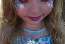 Face painting,body painting