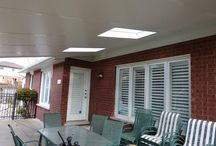 Patio Roofs / Hard Patio Roofs installed by Jans Awning Products in Burlington, ON.