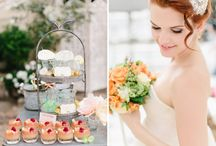 Pastel and Peach Parisian Wedding Inspiration