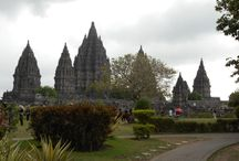 Prambanan / A Hindu temple build in 9th century. Located approximately 17 km northeast of the city Yogyakarta.
