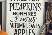 Fall DIY, Decor, Crafts and More / Everything Autumn... Fall DIY, Fall Decor, Fall Crafts and More