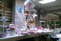candy bar butterfly theme / sweets. butterflies. wedding decorations