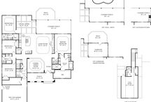 Cape Fear National Floor Plans / Floor plans for homes in Cape Fear National in beautiful Brunswick Forest