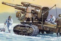 ARTILLERY WW2