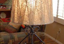 Lamps/shades/rewiring