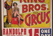 Gammel Circus reklame.