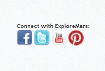 ExploreMars on Social Media / Connect with ExploreMars on social media: