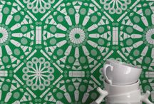 SINGAPORE Flavor! / TAKE a walk down LITTLE INDIA? Experience FOOD CULTURE through TIONG BHARU? Or perhaps SAVOUR exotic Kueh's with a cuppa? Singaporean designer MIKE TAY has INFUSED Singaporean CULTURE into wallcoverings!