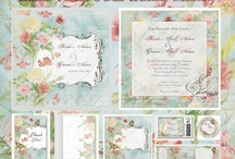 ~Lovely Vintage Stationery for Wedding~