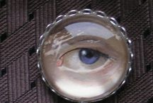 "ART: EYE MINIATURES  & CUSTOM KEEPSAKES / I LEARNED ABOUT EYE MINIATURES WHILE READING ABOUT ""the LOOK OF LOVE"" EXHIBIT.  
