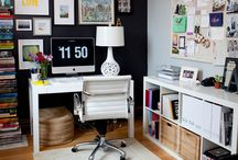 Home Office / Inspiration for my home office.