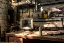Power House of Activity / Exploring a vacant boiler room in Ontario.