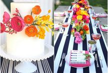 Black and white dessert table ideas