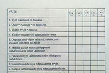 arviointi + muuta kouluun liittyvää