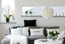 House Ideas / Warm Greys, White's & Rose Gold