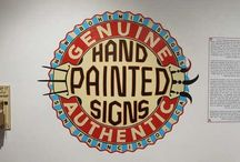 handpainted sign
