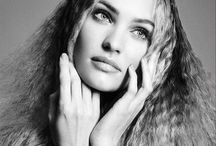 Black and White Beauty / Beauties BW. Skin. Belleza. Make up. Hair. Fashion.