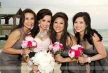 Love In Bloom at The Reach Resort / Wedding floral and decor