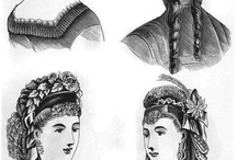 Hair History / In the18th century women prefered their hair curled . Since tongs didnt exist at that time so they used wooden sticks or briads to curl their hair in a heatless way.