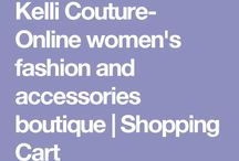 Kelli Couture- Online women's fashion and accessories boutique  | Shopping Cart