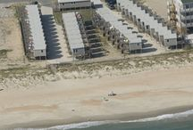 The Hatteras Cabanas Condominiums / Located on 1.53 Acres of Oceanfront Property, the Hatteras Cabanas are one-room efficiencies with all the comforts.  The cabanas which are all individually owned sleep 2 - 4 people and many are Pet Friendly.
