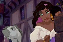 Disney Princesas. Esmeralda