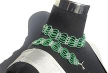 Line et les perles : les parures / Quelques parures en perles de rocaille 100% fait main