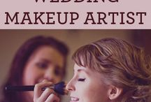 Wedding makeup / Makeup for the bride in her special day. Think natural and hardwearing, photo ready luminence, in soft natural shades and to compliment her face shape. Nothing to different from her normal look unless requested.