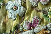 Fabric Ribbon and Thread / by Judy Mccallum