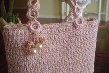 bolsos a crochet / bolsos corchet y telas