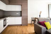 Realizace interiéru vzorového bytu / Pro developerský projekt byla provedena realizace bytu 1+kk