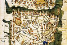 Gravürler...haritalar