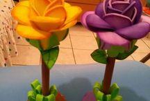 arranjos de flores EVA