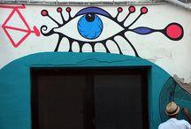 yap street / urbanart, posterart, streetart, wallpainting by yapwilli