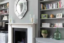 Period home fireplace