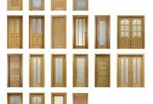 Oak doors 3D models
