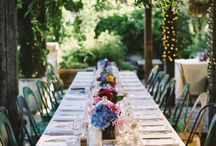 Garden party / This board is inspiration for my 40th birthday garden party.