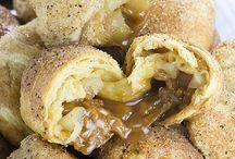 Sweet treats / Zoete tussendoortjes/taarten/toetjes
