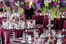 Burgundy&Red weddings