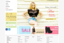 Web design / Website and layout design