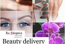 La Púrpura Beauty & Spa / La Púrpura Bringing you the perfect service at the comfort of your home.  Beauty delivery based in Cape Town / Angola  Make-up Hair Nails  Photography  Massage Waxing Instagram _ la.purpura Facebook _ La Púrpura  la.purpura17@gmail.com