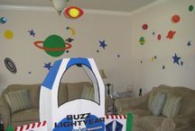 Lukas Lyon's 3rd Toy Story Space Ranger Birthday