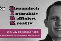 Dirk-Day bei Absolut Radio / Wir feiern Geburtstag mit unserem Blogger der ersten Stunde: Dirk, Birthday, Radiostation / by Absolut Radio